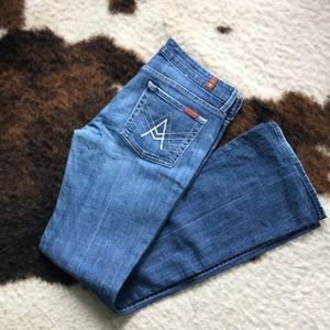 7 For All Mankind A-pocket Jean